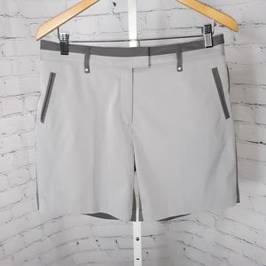 LADY HAGEN Women's Two Tone Gray Golf Shorts 6